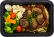 beef-pork-meatballs-spaghetti-vegetables-medley
